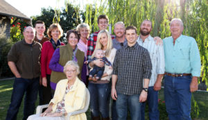 Steve's family: wife Debra, son Scott Wallace and son Christopher James, daughter Laura Stellino with her husband Jason and grandson Landon. Paula's family: husband James Robertson and son Richard James Robertson. Suzy's family: son Robert Cummings Dyer.